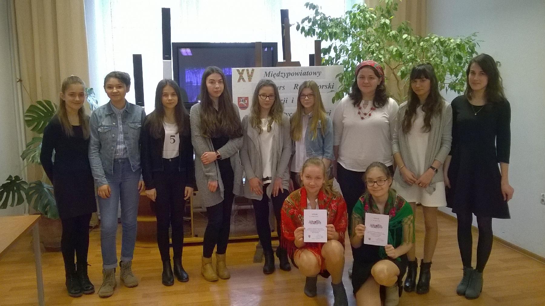Konkurs Recytatorski Poezji I Prozy